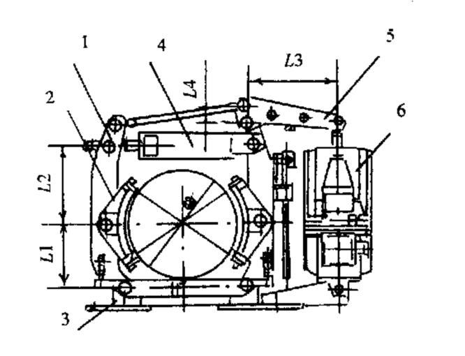 首页 新闻动态    图1  ywz2 系列制动器结构图 1-制动臂;2-制动瓦块